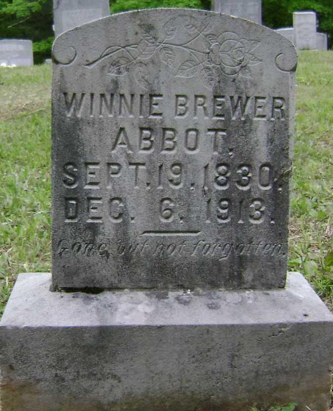 Winnie Brewer Abbott