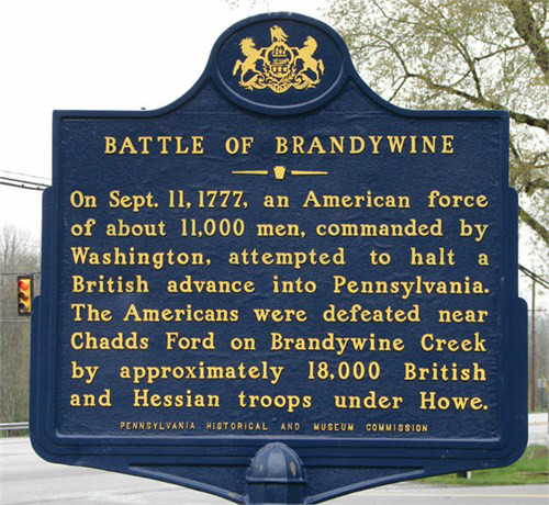 Battle of Brandwine Timothy Reagan