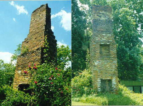 Chiminey on Key Land pre 1930